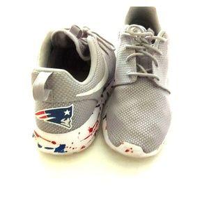 Patriots custom Nike Roshe One mens 9.5
